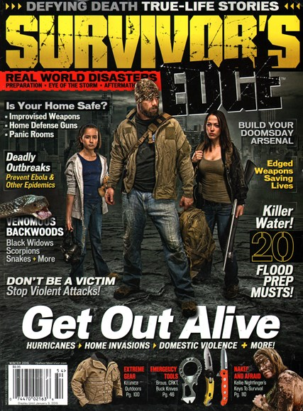 Survivor's Edge Cover - 12/1/2014