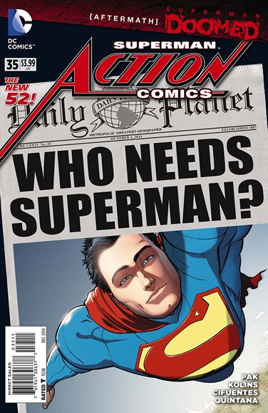 Action Comics Cover - 12/1/2014