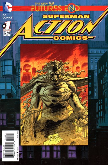 Action Comics Cover - 11/1/2014