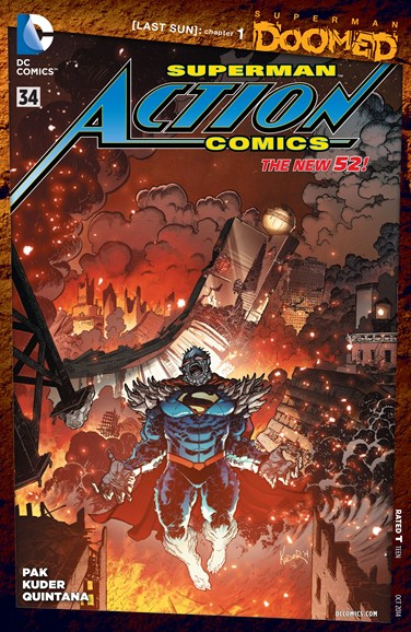 Action Comics Cover - 10/1/2014