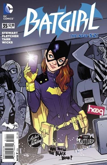 Batgirl Cover - 11/1/2014