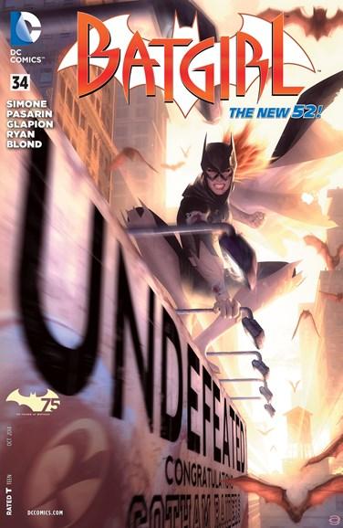 Batgirl Cover - 10/1/2014