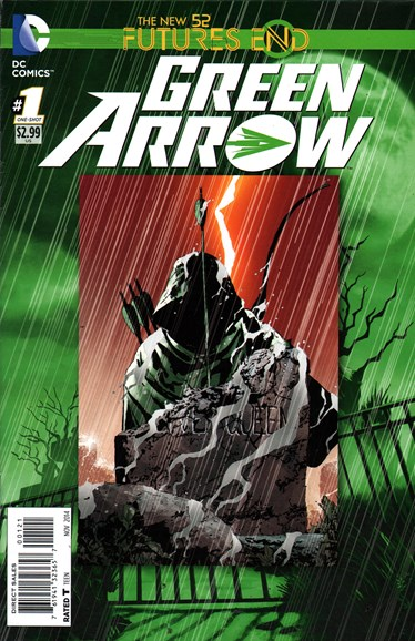 Green Arrow Cover - 11/1/2014