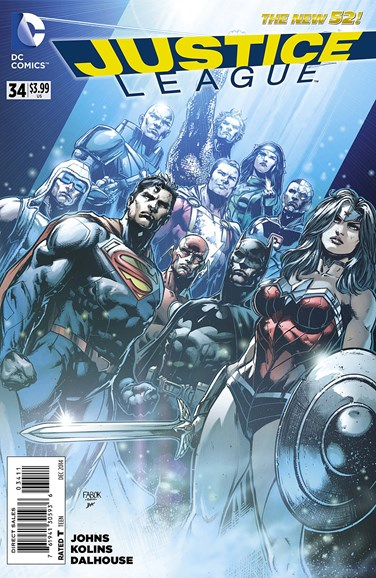 Justice League Cover - 12/1/2014
