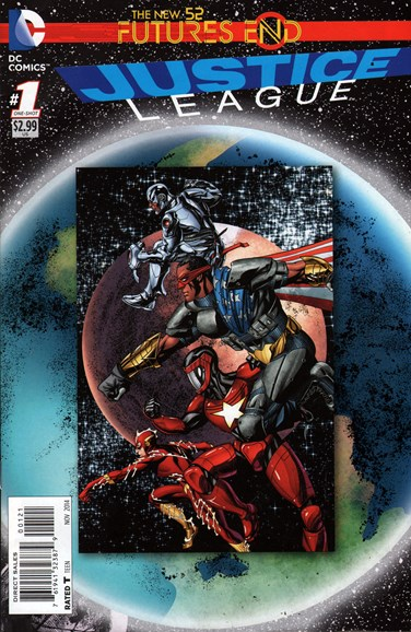 Justice League Cover - 11/1/2014