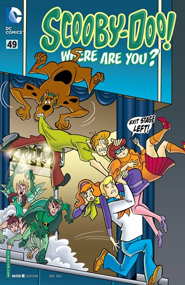 Scooby Doo, Where Are You? Cover - 11/1/2014