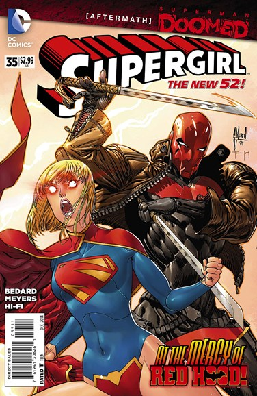 Supergirl Cover - 12/1/2014