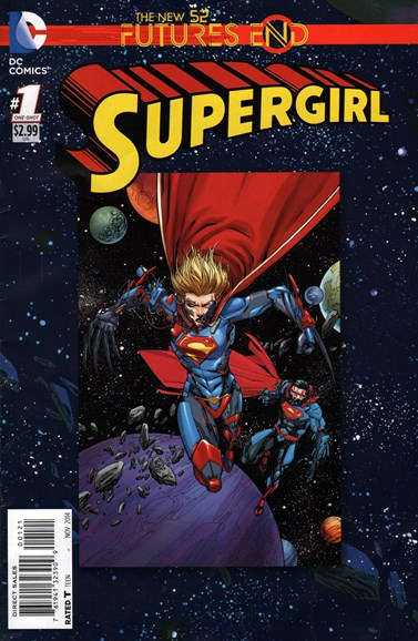 Supergirl Cover - 11/1/2014