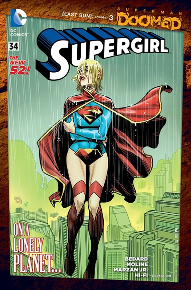 Supergirl Cover - 10/1/2014