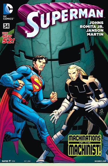 Superman Cover - 10/1/2014