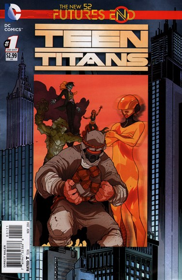 Teen Titans Cover - 11/1/2014