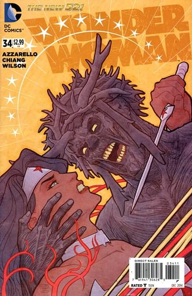 Wonder Woman Cover - 12/1/2014