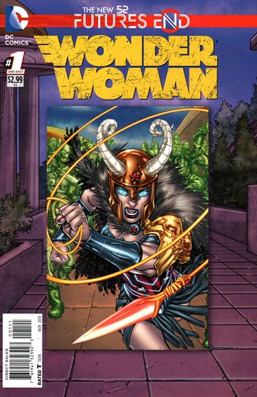 Wonder Woman Cover - 11/1/2014