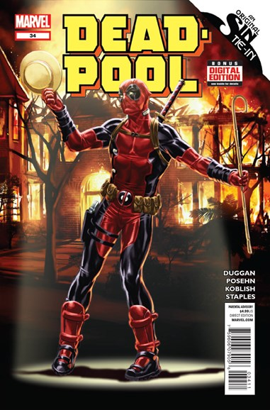 Deadpool Cover - 11/1/2014
