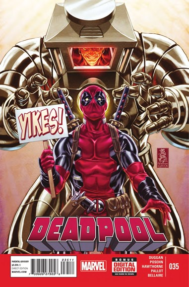 Deadpool Cover - 11/15/2014