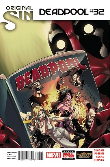 Deadpool Cover - 9/15/2014