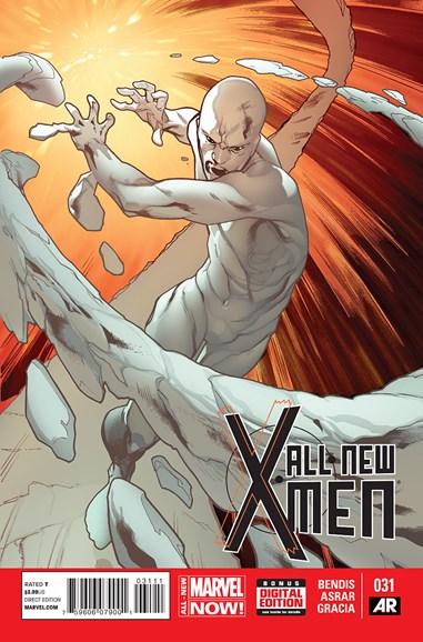 X-Men Blue Cover - 10/1/2014