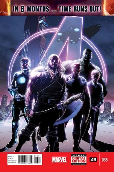 Avengers Cover - 11/15/2014