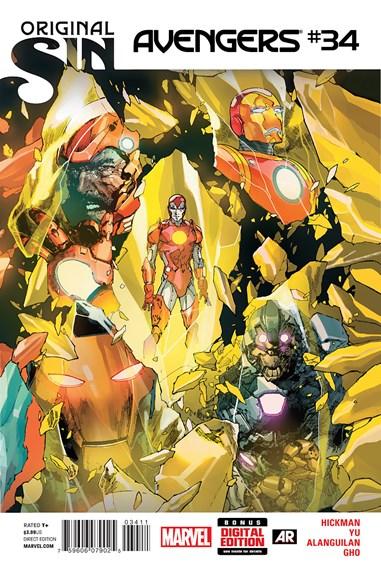 Avengers Cover - 10/1/2014
