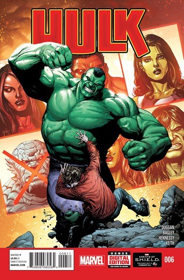 Immortal Hulk Cover - 11/1/2014