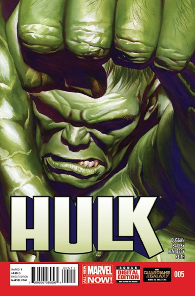 Immortal Hulk Cover - 10/1/2014