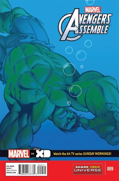 Marvel Universe Avengers Assemble Cover - 8/1/2014