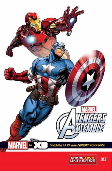 Marvel Universe Avengers Assemble Cover - 12/1/2014
