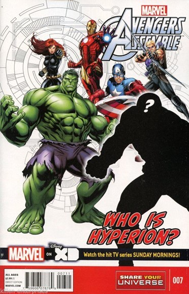 Marvel Universe Avengers Assemble Cover - 6/1/2014