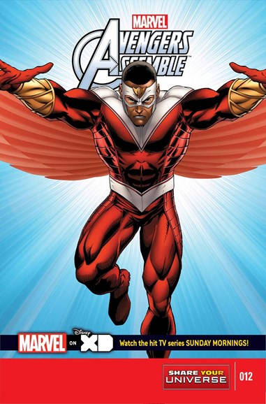 Marvel Universe Avengers Assemble Cover - 11/1/2014