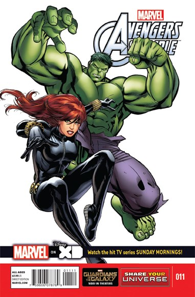Marvel Universe Avengers Assemble Cover - 10/1/2014