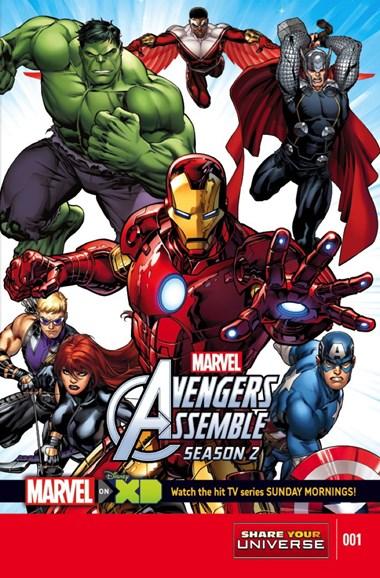 Marvel Universe Avengers Assemble Cover - 1/1/2015