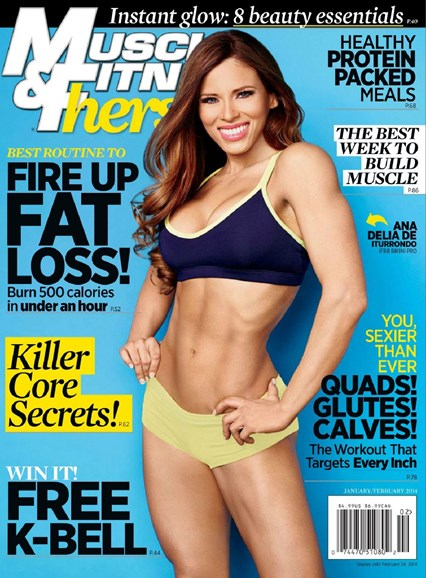 Muscle & Fitness Hers Cover - 1/1/2014