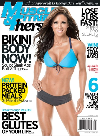 Muscle & Fitness Hers Cover - 7/1/2014