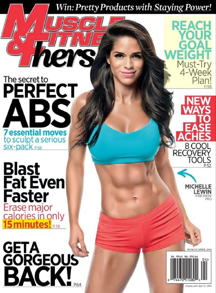 Muscle & Fitness Hers Cover - 3/1/2014