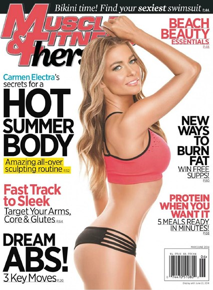 Muscle & Fitness Hers Cover - 6/1/2014
