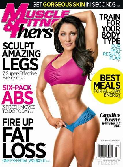 Muscle & Fitness Hers Cover - 9/1/2014