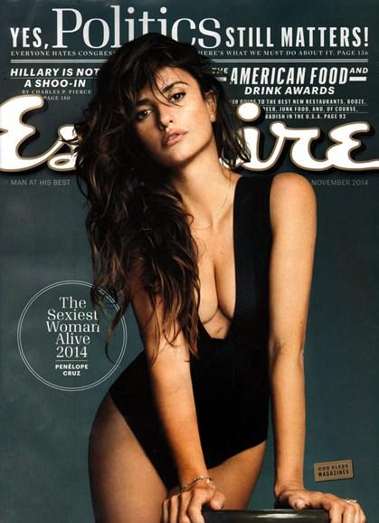 Esquire Cover - 11/1/2014