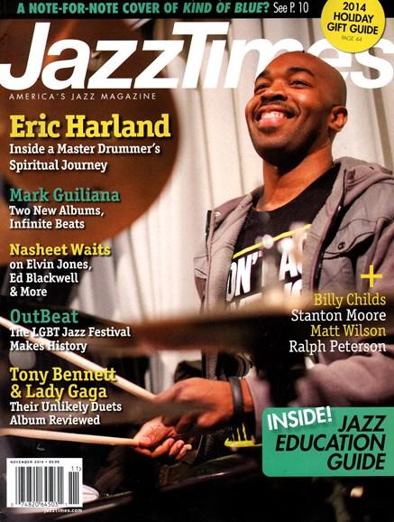 JazzTimes Cover - 11/1/2014