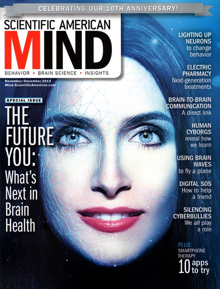 Scientific American Mind Cover - 11/1/2014