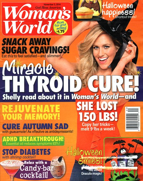 Woman's World Cover - 11/3/2014