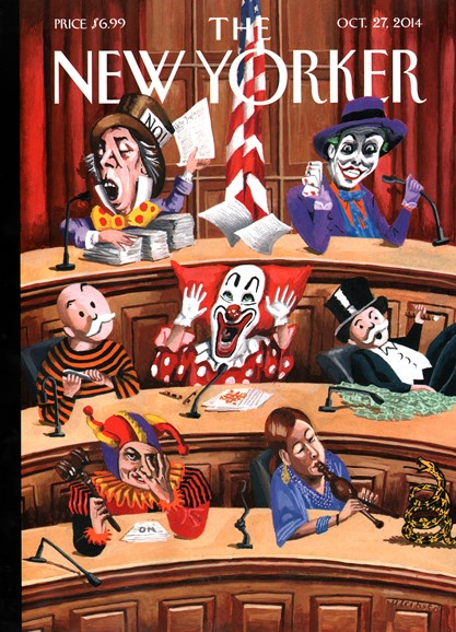 The New Yorker Cover - 10/27/2014