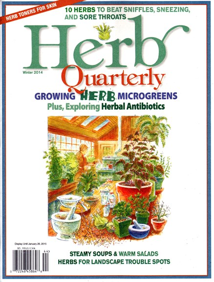 Herb Quarterly Cover - 12/1/2014