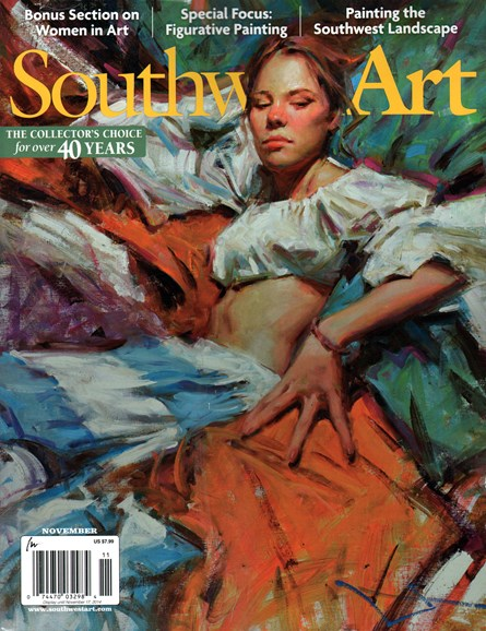 Southwest Art Cover - 11/1/2014