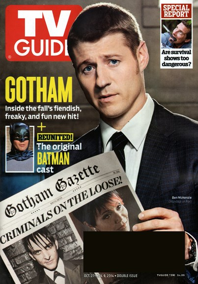 TV Guide Cover - 10/27/2014