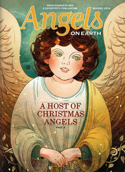 Angels on Earth Cover - 11/1/2014