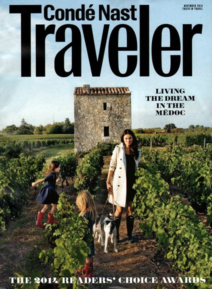 Condé Nast Traveler Cover - 11/1/2014