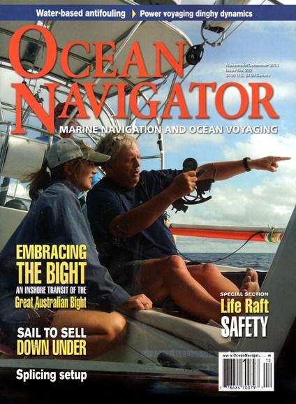 Ocean Navigator Cover - 11/1/2014