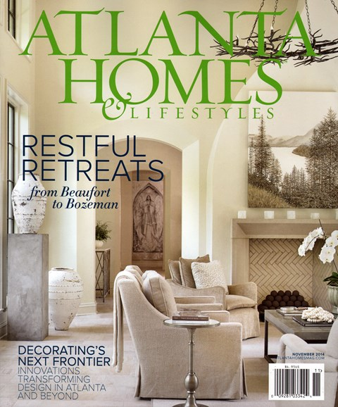 Atlanta Homes & Lifestyles Cover - 11/1/2014