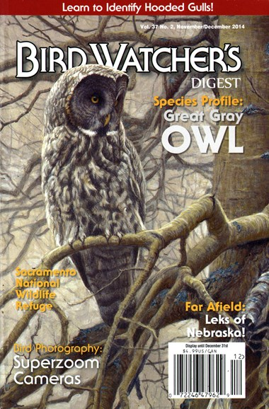 Bird Watcher's Digest Cover - 11/1/2014