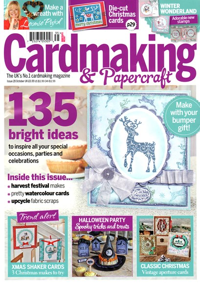 CardMaking & PaperCrafts Cover - 10/1/2014